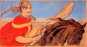 Хит-парад сильных героинь из русских сказок