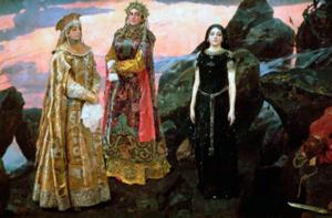 Хит-парад сильных героинь из русских сказок 9