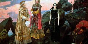 Хит-парад сильных героинь из русских сказок 1